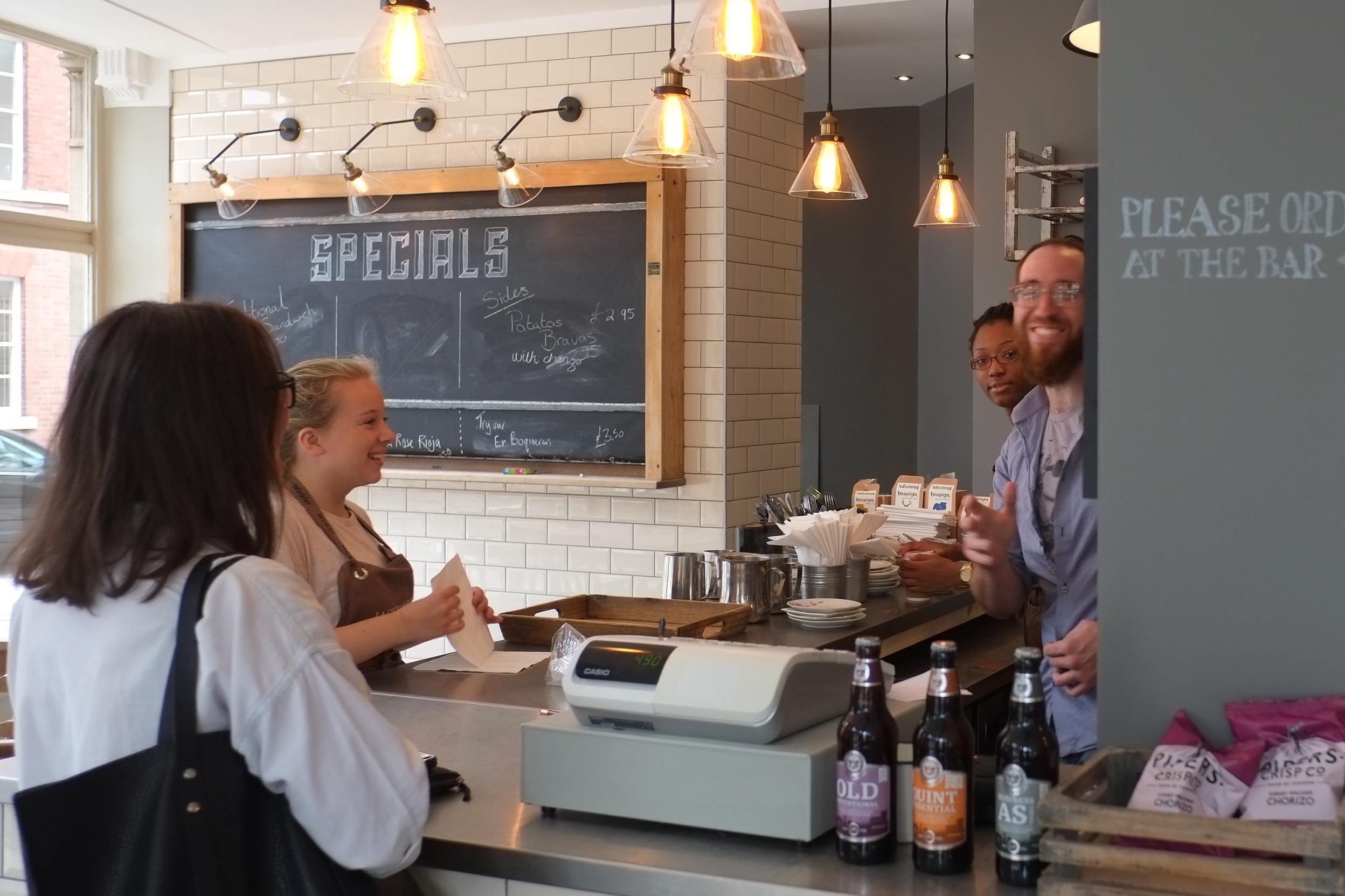 Ashbourne And Derby Cafe Jack Rabbits Kitchen Based In